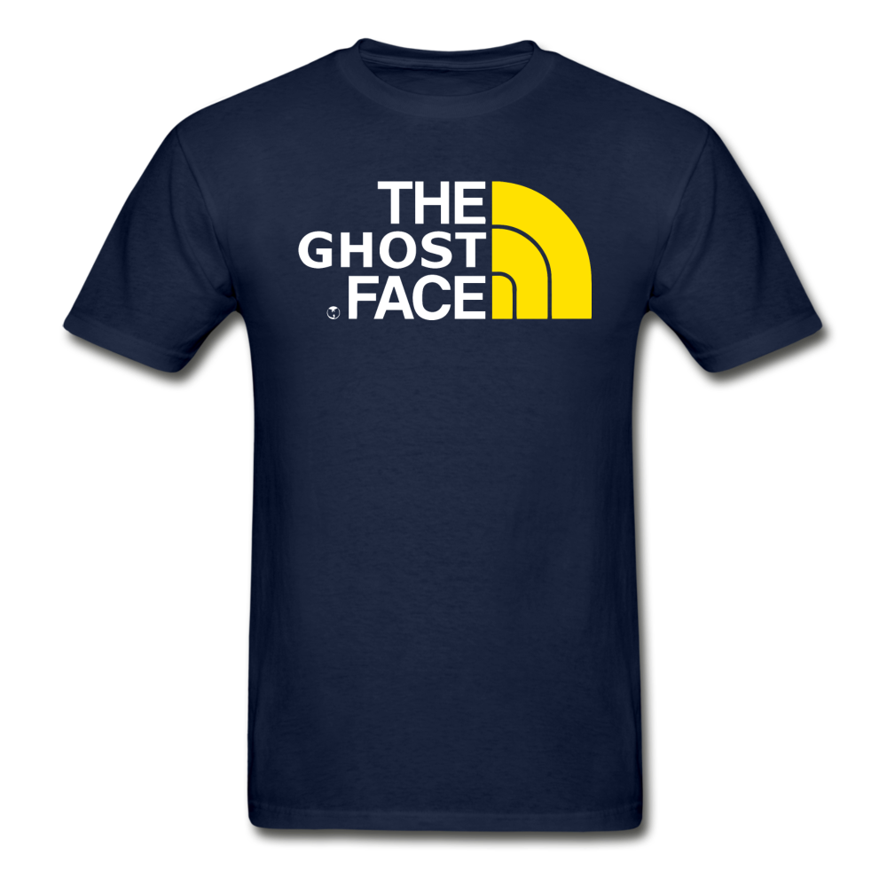 The Ghost Face T-Shirt - navy
