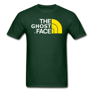 The Ghost Face T-Shirt - forest green