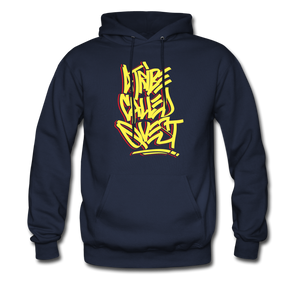 A Tribe Called Quest Graffiti Hoodie - navy