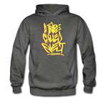 A Tribe Called Quest Graffiti Hoodie - charcoal gray