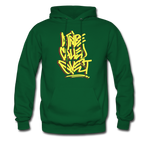 A Tribe Called Quest Graffiti Hoodie - forest green