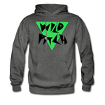 Wild Pitch Hoodie - charcoal gray