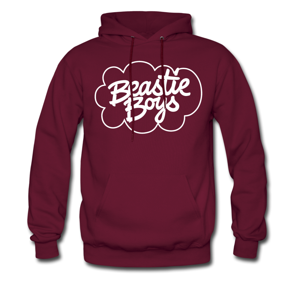 Beastie Boys Cloud Design Hoodie - burgundy