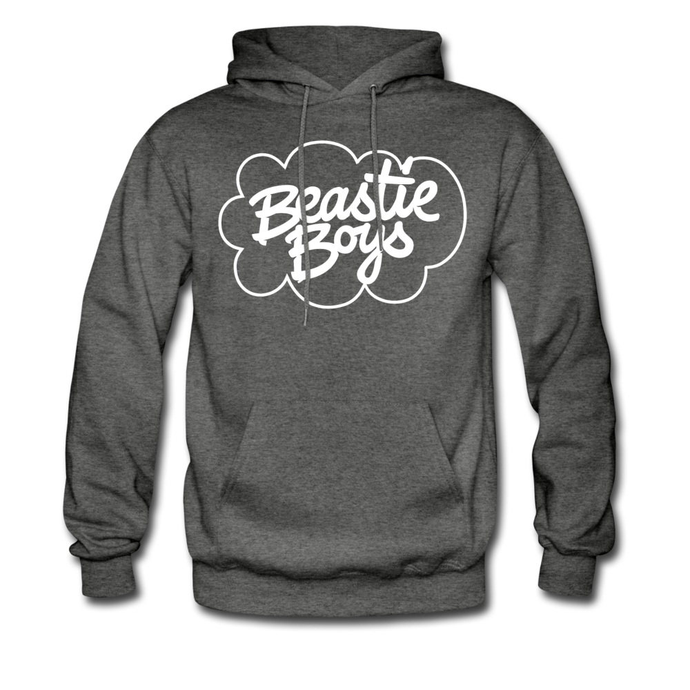 Beastie Boys Cloud Design Hoodie - charcoal gray