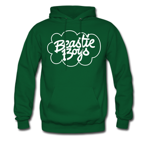 Beastie Boys Cloud Design Hoodie - forest green
