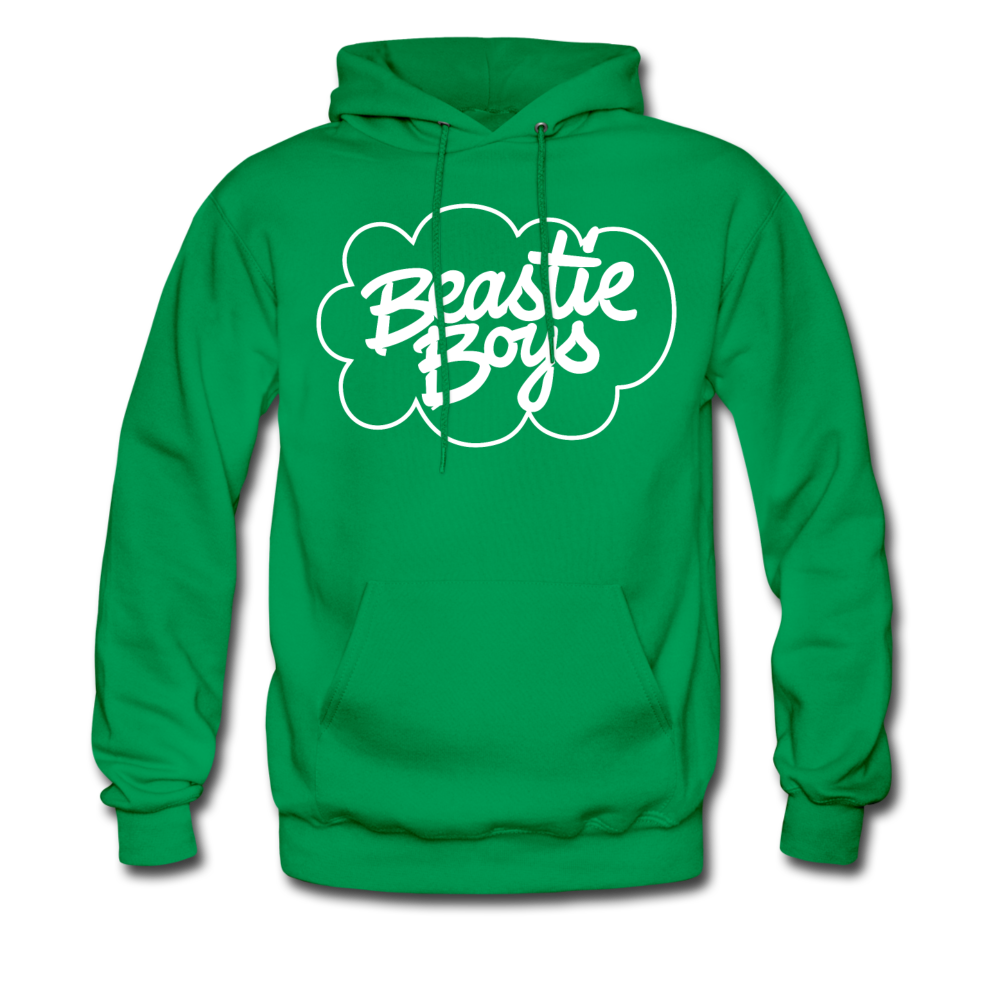 Beastie Boys Cloud Design Hoodie - kelly green