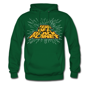 Fear Of A Black Planet Hoodie - forest green