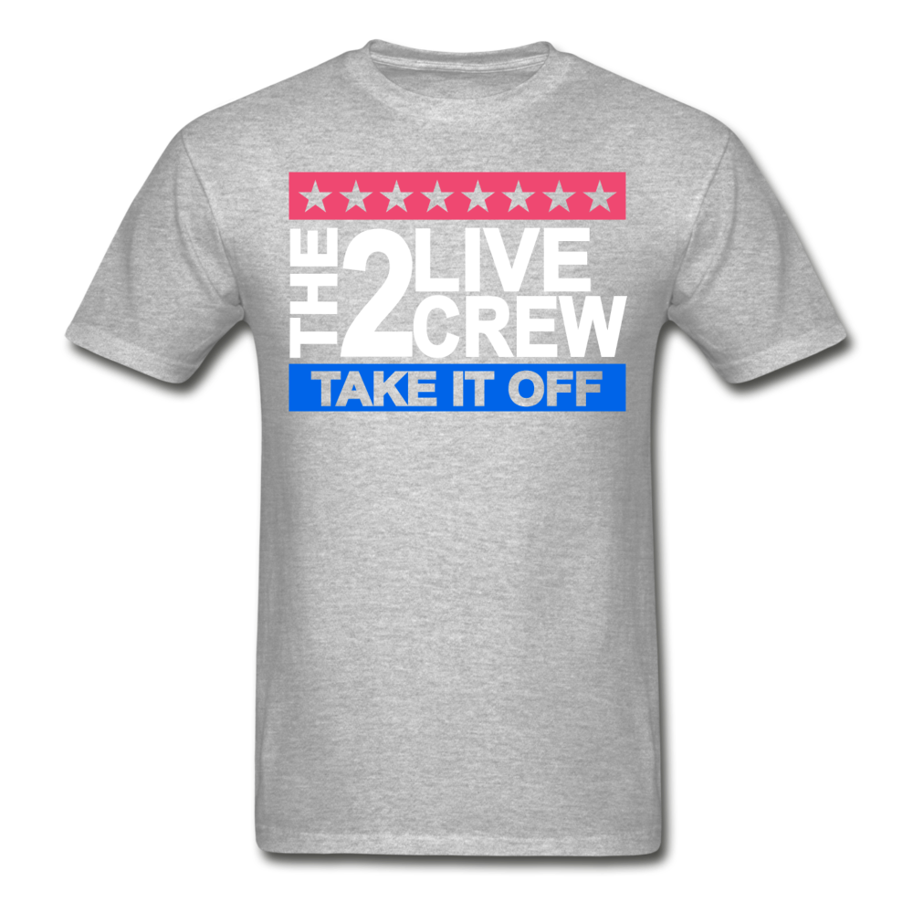 The 2 Live Crew T-Shirt - heather gray