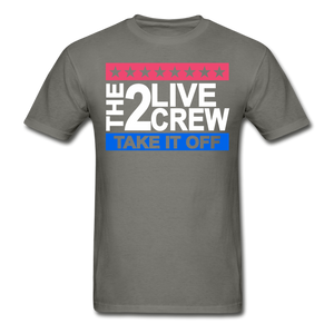 The 2 Live Crew T-Shirt - charcoal