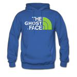 The Ghost Face Hoodie - royal blue
