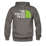The Ghost Face Hoodie - asphalt gray