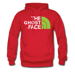 The Ghost Face Hoodie - red