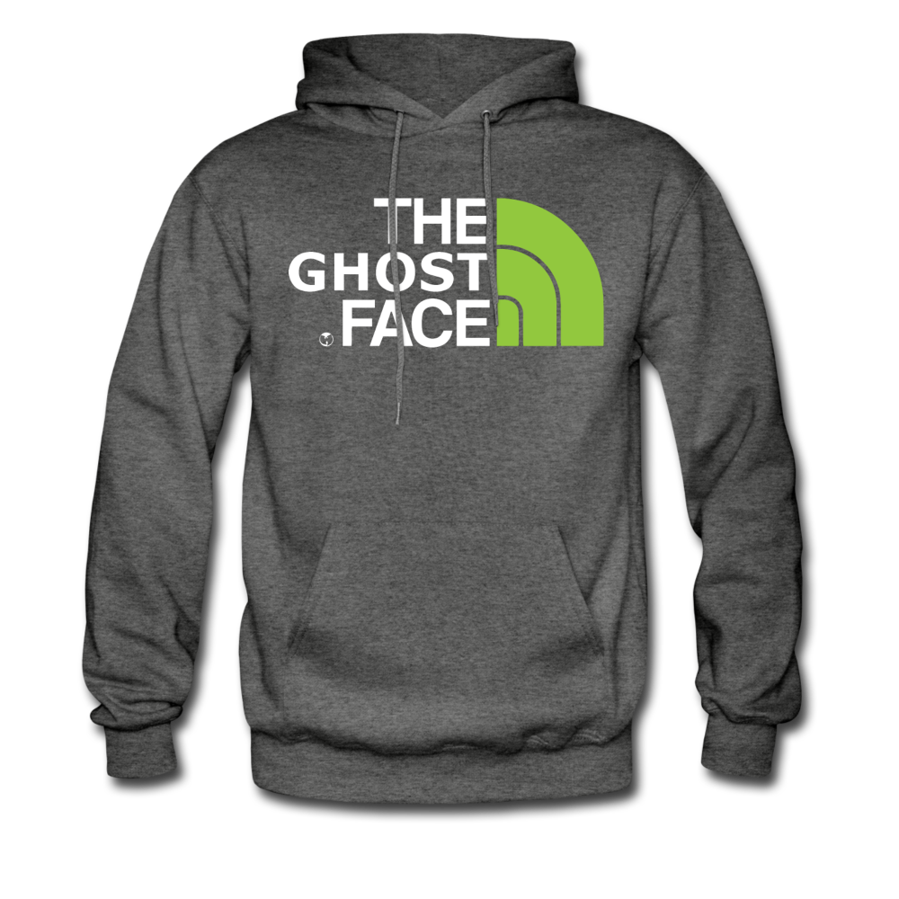 The Ghost Face Hoodie - charcoal gray