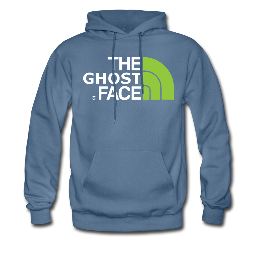 The Ghost Face Hoodie - denim blue