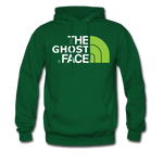 The Ghost Face Hoodie - forest green