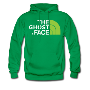 The Ghost Face Hoodie - kelly green
