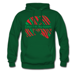 Enter the Marauders Hoodie - forest green