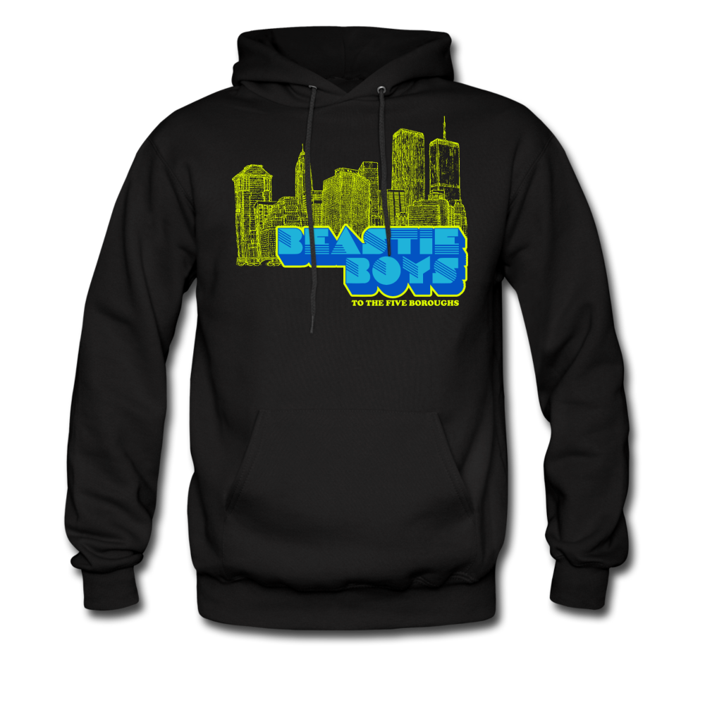 To the Five Boroughs Hoodie - black
