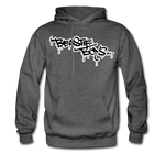 Beastie Boys Graffit Tag Hoodie - charcoal gray