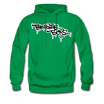 Beastie Boys Graffit Tag Hoodie - kelly green