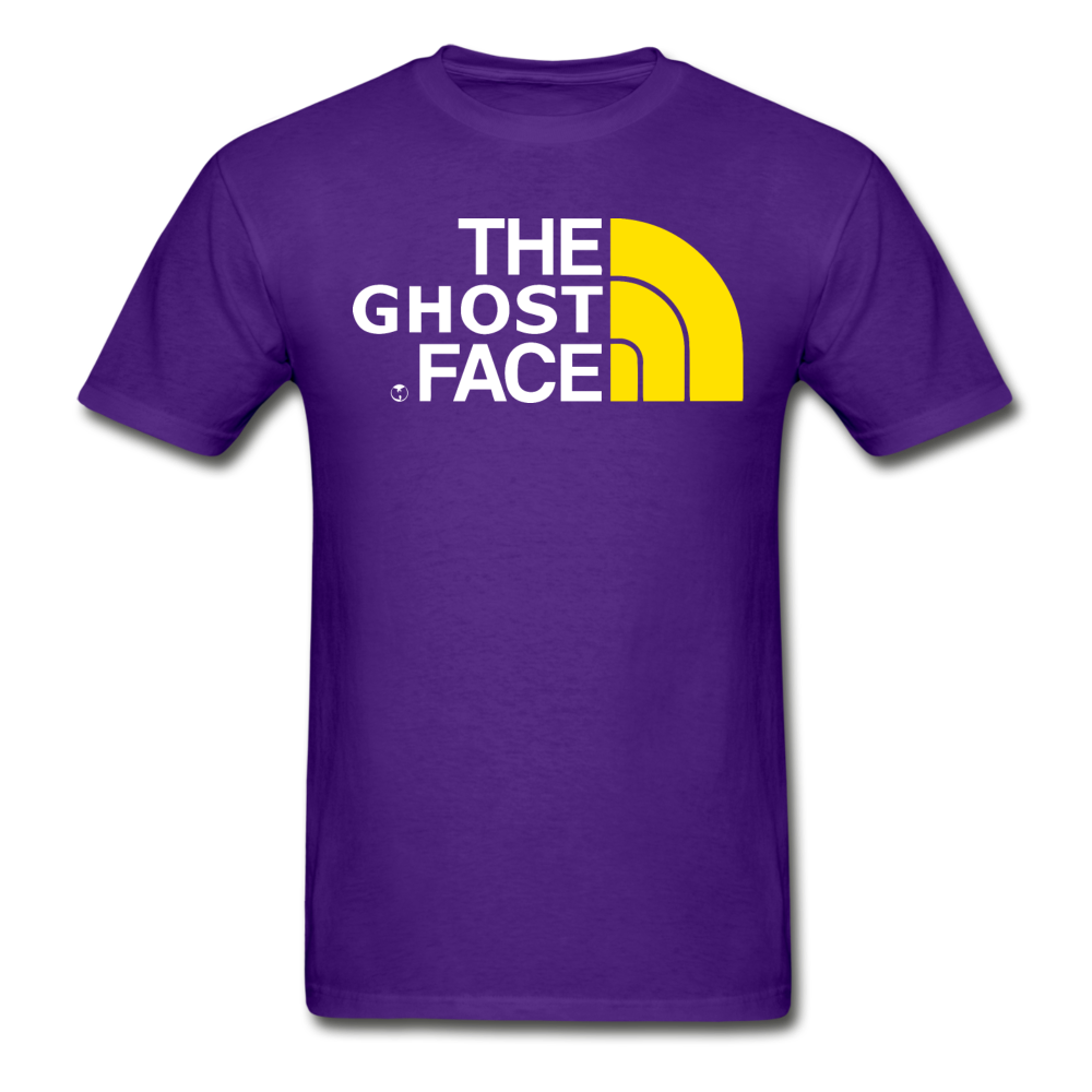 The Ghost Face T-Shirt - purple