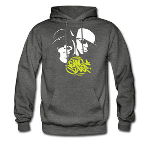 Gang Starr Hoodie - charcoal gray
