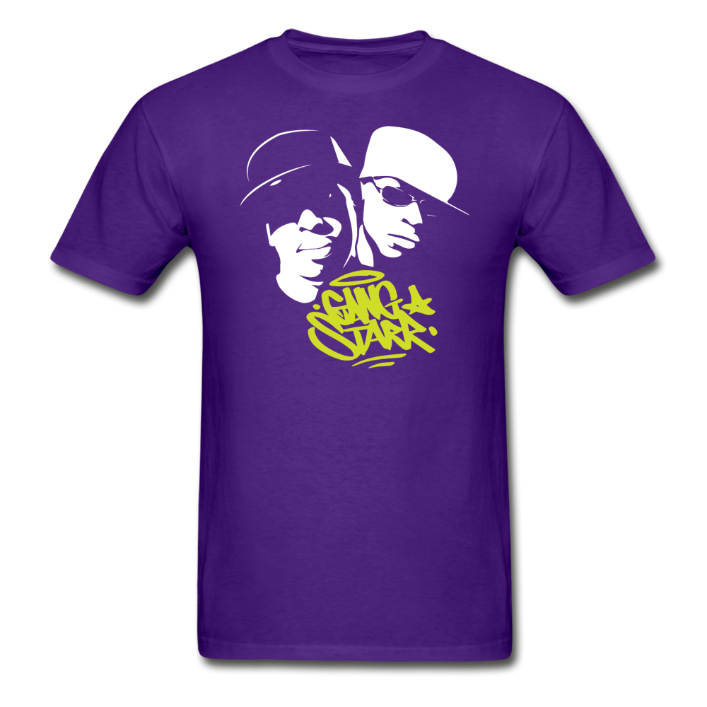 Gang Starr T-Shirt - purple