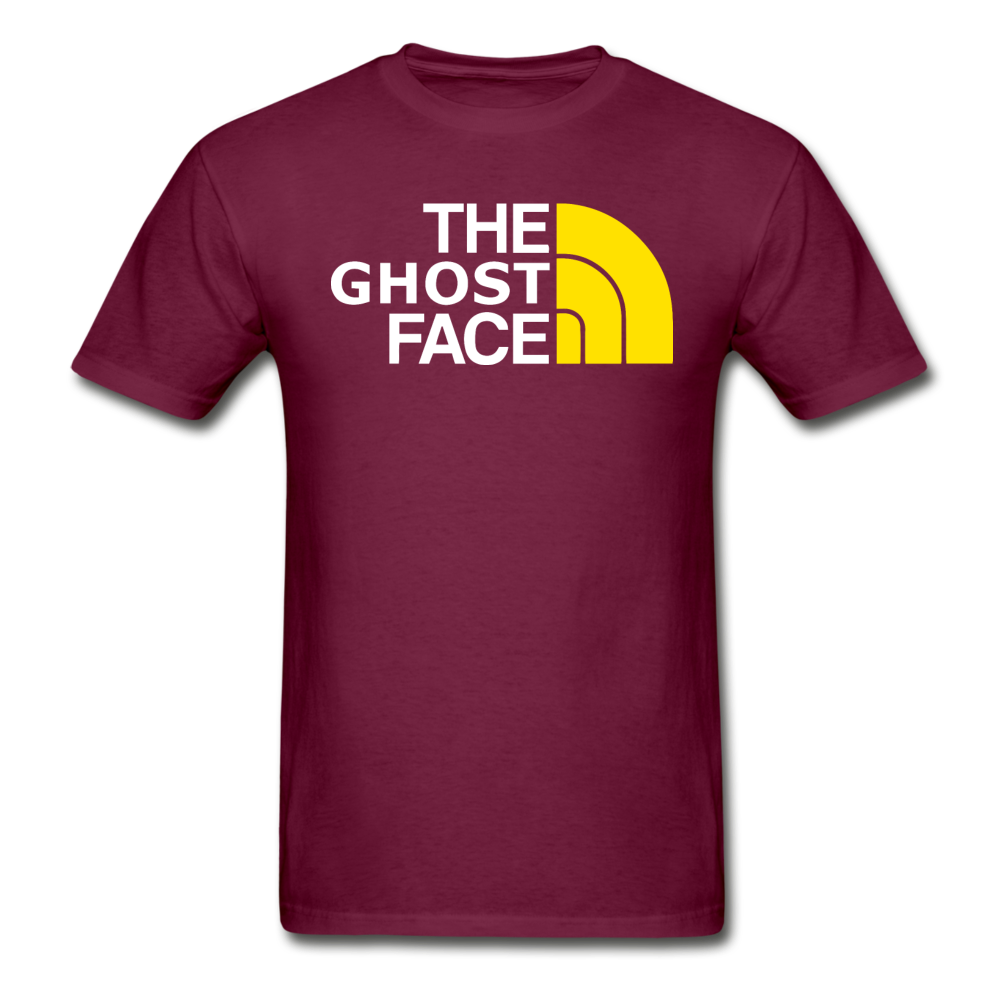 The Ghost Face T-Shirt - burgundy