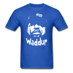 Ice Cube Waddup T-Shirt - royal blue