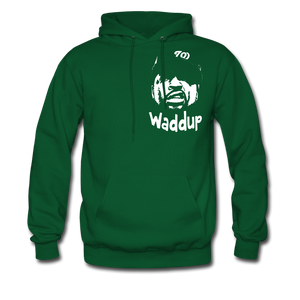 Ice Cube Waddup Hoodie - forest green