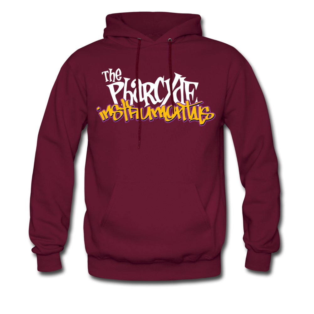 The Pharcyde Hoodie - burgundy