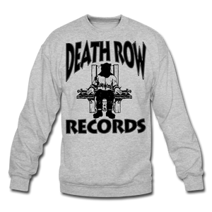 Death Row Records Crewneck Sweatshirt - heather gray