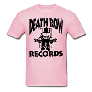 Death Row Records T-Shirt - light pink