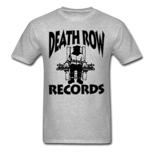 Death Row Records T-Shirt - heather gray