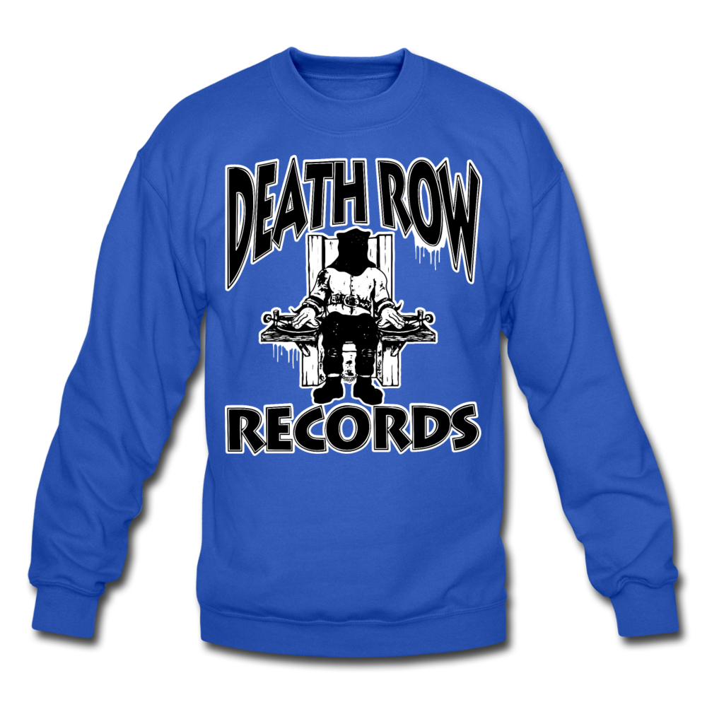 Death Row Records Crewneck Sweatshirt - royal blue