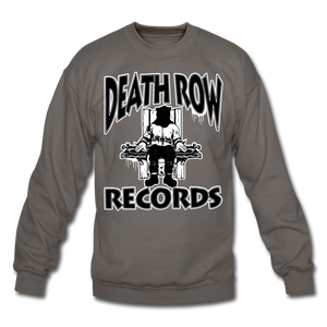 Death Row Records Crewneck Sweatshirt - asphalt gray