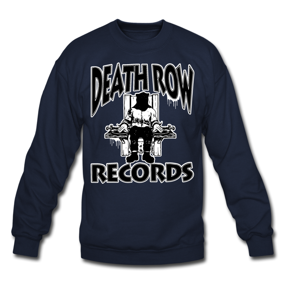 Death Row Records Crewneck Sweatshirt - navy