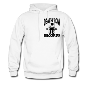 Death Row Records Hoodie - white