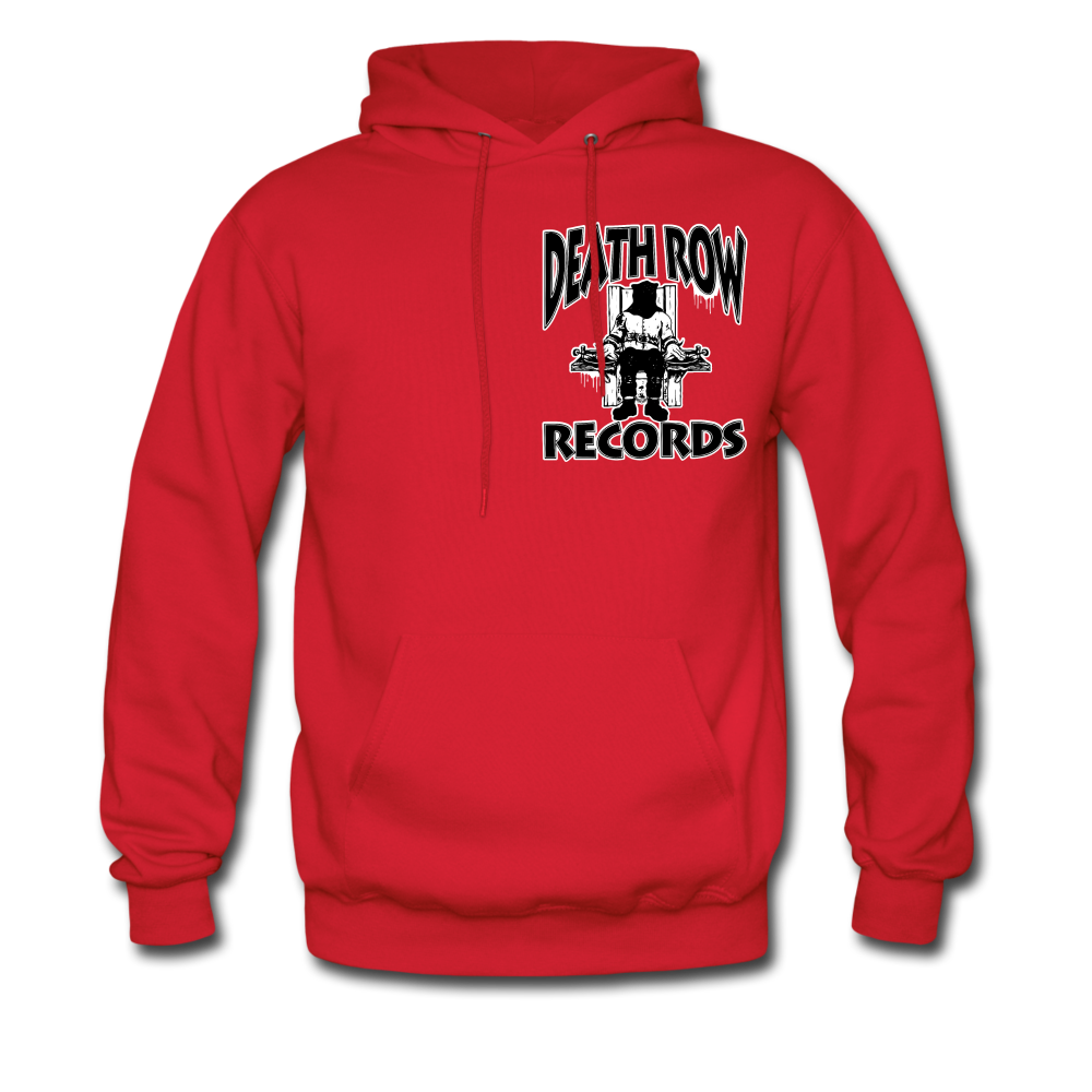 Death Row Records Hoodie - red
