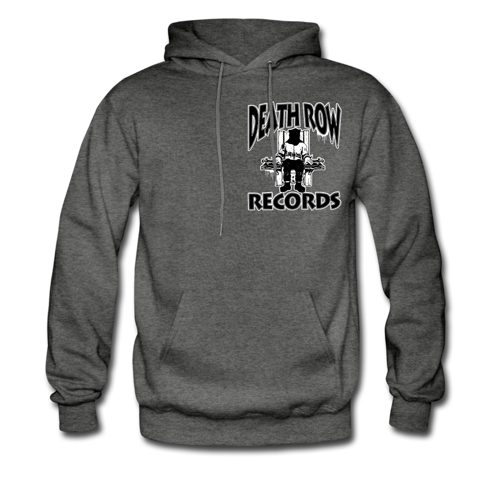 Death Row Records Hoodie - charcoal gray