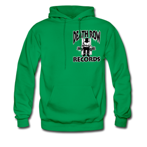 Death Row Records Hoodie - kelly green