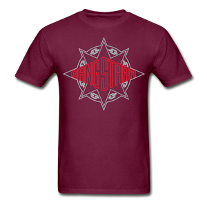 Gang Starr T-Shirt - burgundy