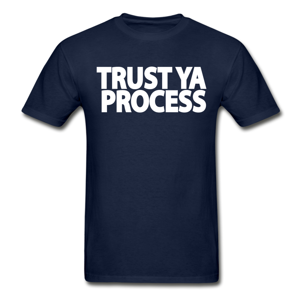 Trust Ya Process T-Shirt - navy