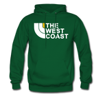 The West Coast Hoodie - forest green