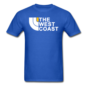 The West Coast T-Shirt - royal blue