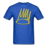 Born Sinner Crown T-Shirt - royal blue