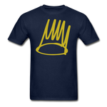 Born Sinner Crown T-Shirt - navy