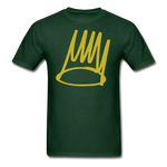 Born Sinner Crown T-Shirt - forest green