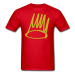 Born Sinner Crown T-Shirt - red