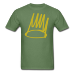 Born Sinner Crown T-Shirt - military green